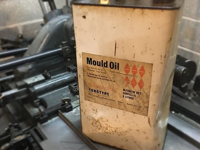"Your every-three-years reminder that ""Mould Oil"" and ""Mould Oil No.1"" are, bafflingly, very different oils."