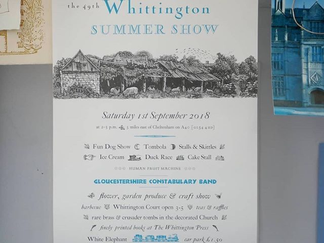 #Repost @nomadletterpress with @get_repost ・・・ Here at the press we're gearing up for the 49th Whittington Summer Show! We'll be throwing the Whittington Press doors open wide and be joined by some very talented friends; @peterandallen @effrapress @incline_press @letterpressanarchy @evergreenpress @theeprintproject @the_millpond_press @theletterpresscollective @james_freemantle_london @mrtommayo and many more selling their work, making prints, and even doing a little bit of pochoir on the day. Saturday 1st September, 2-5pm. Hope to see you there! . . . #whittingtonpress #whittington #openday #summershow #letterpress #nomadletterpress #presstival #print #paper #pochoir #miriammacgregor #woodengraving